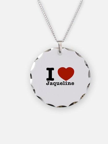 I love Jaqueline Necklace