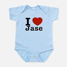 I love Jase Infant Bodysuit