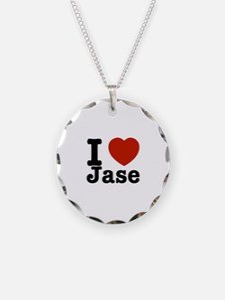 I love Jase Necklace