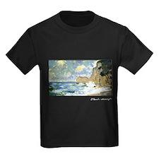 Effect of Waves at Etretat, Monet, T