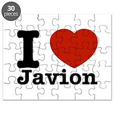 I love Javion Puzzle