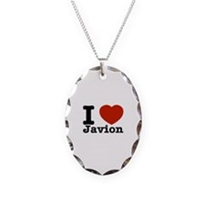 I love Javion Necklace