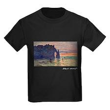 Monet Painting, Etretat, T