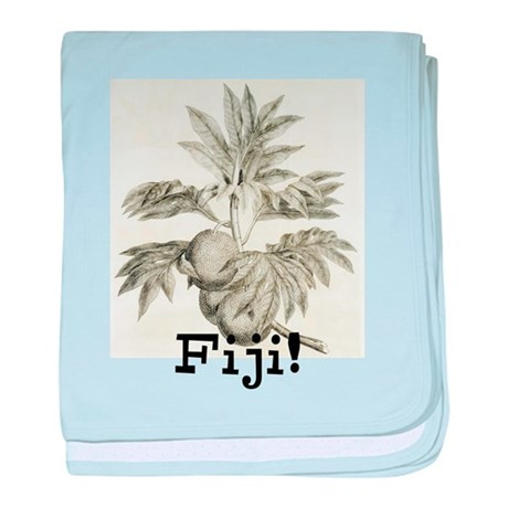 Fiji Breadfruit baby blanket