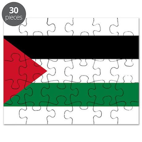 Palestine Flag Puzzle