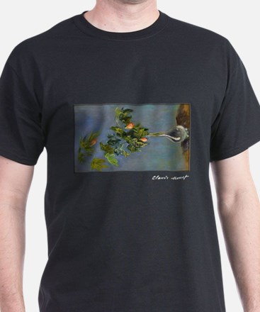 Monet Painting, Flowers in a Vase, T-Shirt