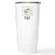 Fiji Map Travel Mug