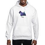Terrier - Lang Hooded Sweatshirt