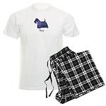 Terrier - Lang Men's Light Pajamas