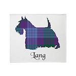 Terrier - Lang Throw Blanket