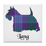 Terrier - Lang Tile Coaster
