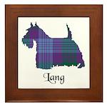 Terrier - Lang Framed Tile