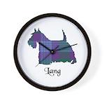 Terrier - Lang Wall Clock