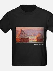 Haystacks - White Frost, Sunrise, Monet, T