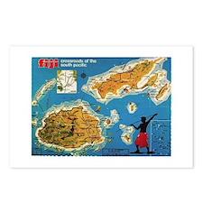 Vintage Fiji Postcards (Package of 8)