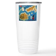 Vintage Fiji Travel Mug