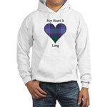 Heart - Lang Hooded Sweatshirt