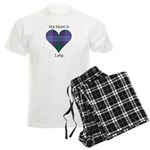 Heart - Lang Men's Light Pajamas