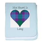 Heart - Lang baby blanket