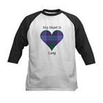 Heart - Lang Kids Baseball Jersey