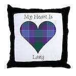 Heart - Lang Throw Pillow