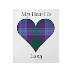Heart - Lang Throw Blanket
