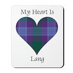 Heart - Lang Mousepad