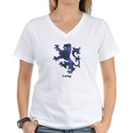 Lion - Lang Women's V-Neck T-Shirt