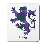 Lion - Lang Mousepad