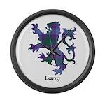 Lion - Lang Large Wall Clock