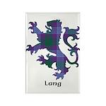 Lion - Lang Rectangle Magnet (100 pack)