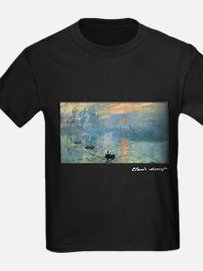Impression, Sunrise, Monet, T