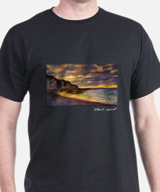 L'Ally Point, Low Tide, Monet, T-Shirt