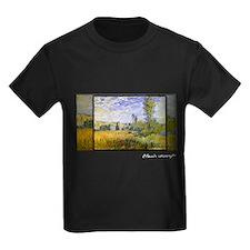 Landscape at Vetheuil, Monet, T