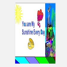 Sunshine Jesus Postcards (Package of 8)