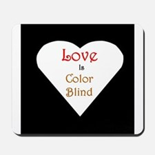 Interracial Love & Relationship Mousepad