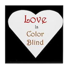 Interracial Love & Relationship Tile Coaster