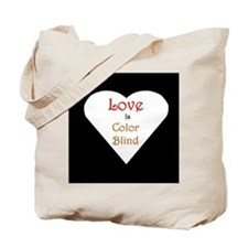 Interracial Love & Relationship Tote Bag