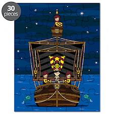 Knights & Princess on Ship Puzzle