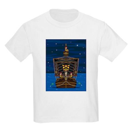 Knights & Princess on Ship Kids Light T-Shirt