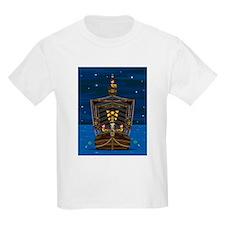 Knights & Princess on Ship T-Shirt