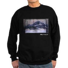 Mount Kolsaas in Misty Weather, Monet Sweatshirt