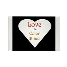 Interracial Love & Relationship Rectangle Magnet
