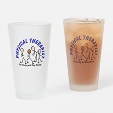 Physical Therapy Drinking Glass