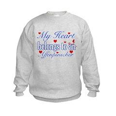 Affenpinscher Dog Designs Sweatshirt