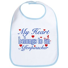 Affenpinscher Dog Designs Bib