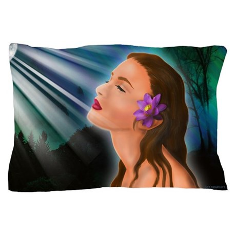 Moonlight Goddess Pillow Case