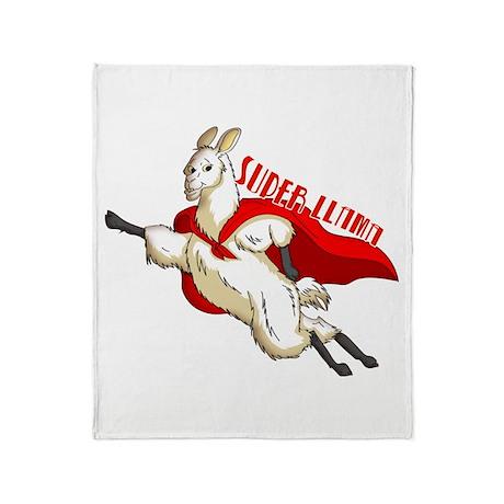 Super Llama Throw Blanket