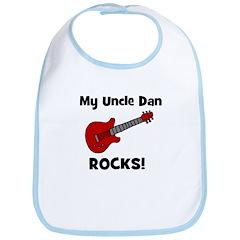 My Uncle Dan Rocks! Bib
