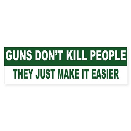 nra bumper sticker